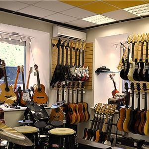 Музыкальные магазины Спасского
